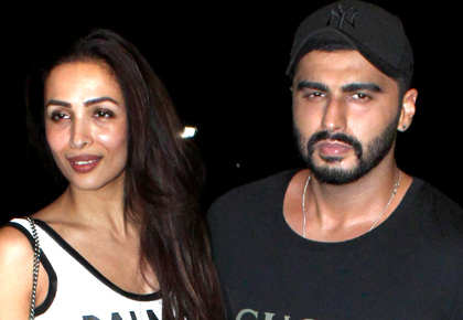 PIX: Arjun Kapoor-Malaika go on a movie date
