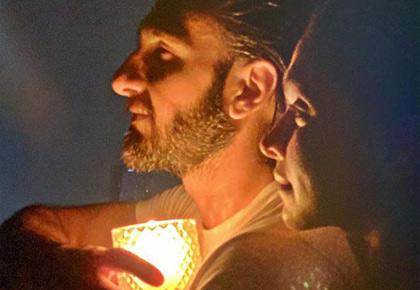 PIX: Ranveer-Deepika light up the night