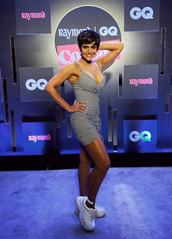 Mandira Bedis dress is trending. Heres why! - Rediff.com