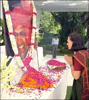 Rediff Com Death Anniversary Of Rajesh Pilot