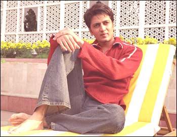 rediff.com: ritesh deshmukh at hotel taj mansingh in new delhi