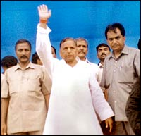 Mulayam Singh Yadav. Pic: Getty Images