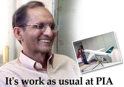 It's work as usual at PIA!