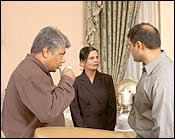 Tunku Varadarajan, Swati Dandekar, Kapil Sharma
