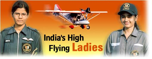 India's high flying ladies
