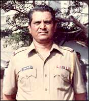 Madhukar Zende in his police days
