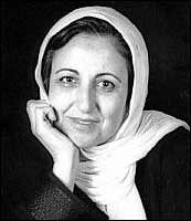 Shirin Ebadi. Pic courtesy: Iranian Children's Rights Society