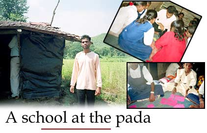 A school at the pada