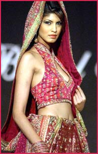 A Ritu Kumar outfit from LIFW 2003