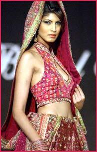 A Ritu Kumar outfit from LIFW 2003