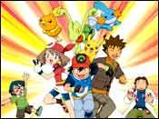 The Pokemon characters