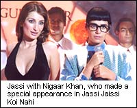 Jassi with Nigaar Khan