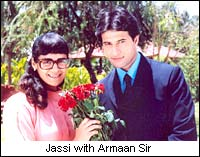 Jassi with Armaan Sir