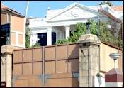 Shah Rukh's residence in Mumbai