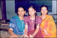 Akhila, Kshama and Sunanda