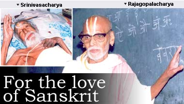 For the love of Sanskrit