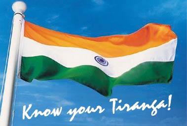 Know your Tiranga!