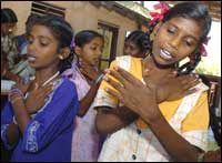 A musical afternoon at a Tamil Nadu orphanage