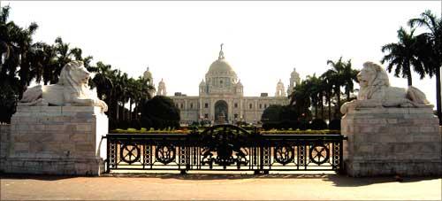 Kolkata's Victoria Memorial.