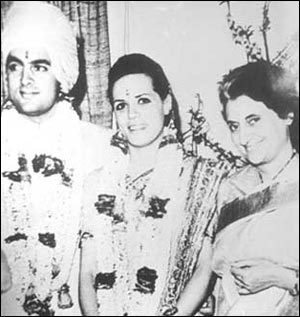 Thirty Eight Years Ago On February 25 Rajiv Gandhi Wed A Shy Italian With Warm Doe Eyes At 1 Safdarjung Road In New Delhi Simple Ceremony