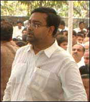Bibek Moitra, late Pramod Mahajan's secretary.