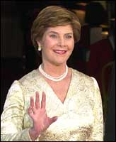 Laura Bush: Photograph: Getty Images
