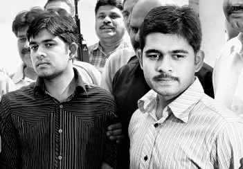 Anishul Murshlin and Muhibbul Muttakin, twin brothers from Faridpur in Bangladesh were arrested at New Delhi railway station in February