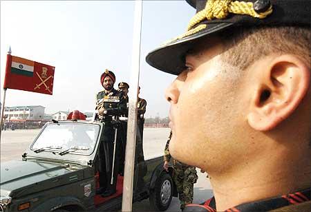 Army Chief J J Singh