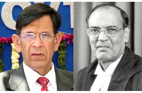 Chief Justice Y K Sabharwal (left) and Justice C K Thakker, who have forced the government into action in the Delhi sealing issue.