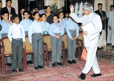 President Kalam on Children's Day