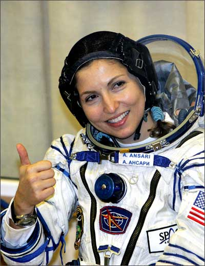 russian female astronaut in space - photo #19