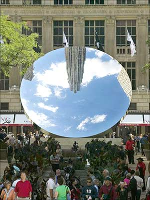 Anish Kapoor S Mirror To The Sky