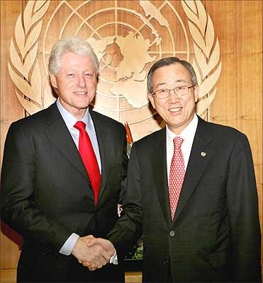 Bill Clinton é novo enviado especial para Haiti