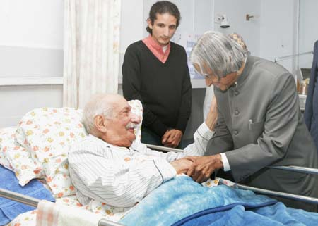 President Kalam with Manekshaw