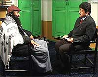 Salahuddin with Hamid Mir