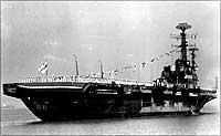 INS Vikrant. Photograph courtesy: Indian Navy