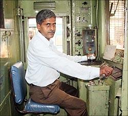 Om Prakash Gupta, Motorman