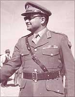General Rikhye in the Gaza Strip. Photographs: Courtesy Rikhye family