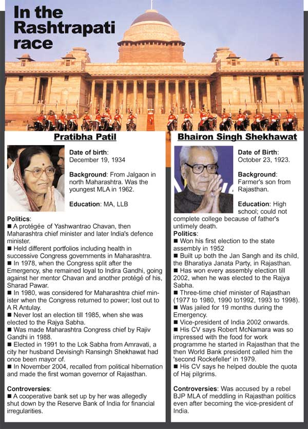 In the Rashtrapati race