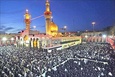 Prayers at Karbala