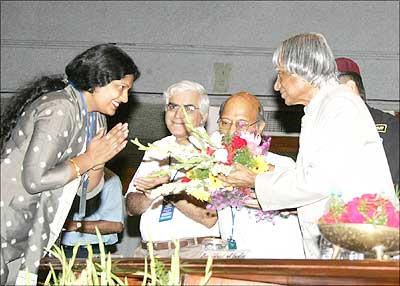 President Kalam at IIT Delhi