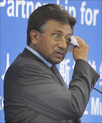Former President of Pakistan General Parvez Musharraf