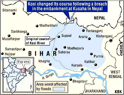 Kosi flood
