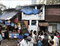 The Ansari hutment