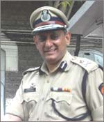 Mumbai's Joint Commissioner of Police (crime) Rakesh Maria. Photo by Arun Patil