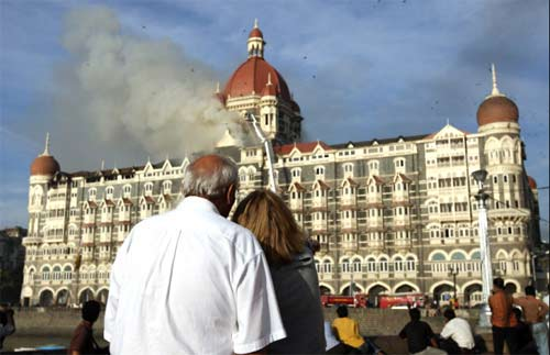 Taj Mahal Hotel, Mumbai targeted by terrorist