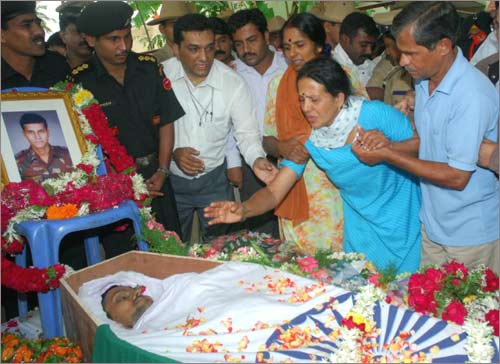 Funeral of Major Sandeep Unnikrishnan