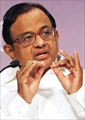 P Chidambaram, India's new home minister
