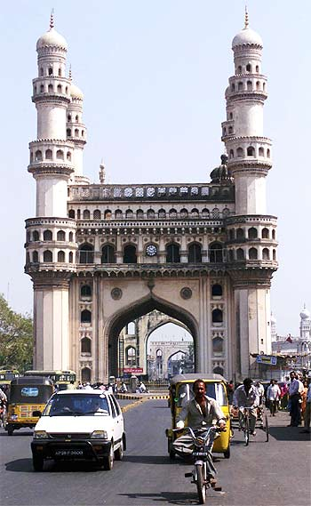 The Charminar, Hyderabad's best-known monument