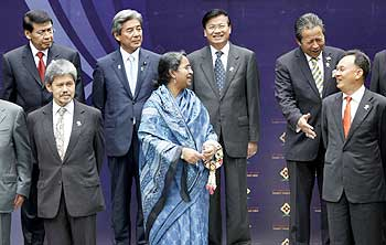 Association of Southeast Asian Nations ministers and officials at the ASEAN Regional Forum in Phuket